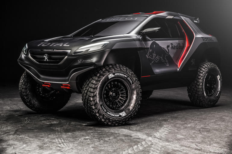 Rallye Dakar: Peugeot mit Dream Team am Start