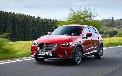 Test: Mazda CX-3 - Die knackige Alternative zur Golf-Klasse
