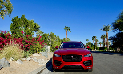 Jaguar F-Pace: ''Easy riding'' in Palm Springs