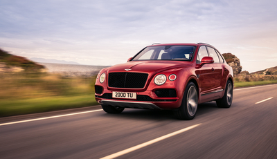Bentley zeigt das Super-SUV