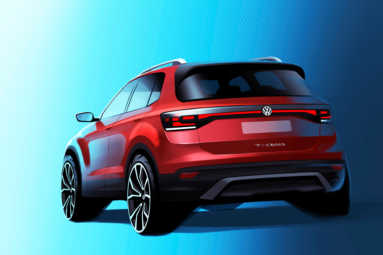 VW bringt T-Cross in Serie